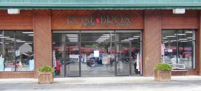 rosebros store front